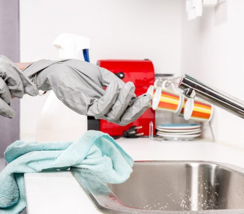 protective gloves - industrial cleaning services