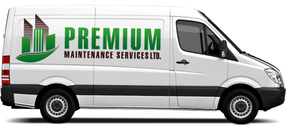premium maintenance services van